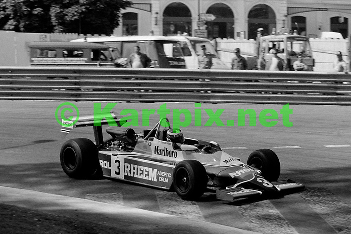 Corrado Fabi at the Grand Prix Automobile de Pau 1981