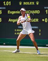 England, London, 28.06.2014. Tennis, Wimbledon, AELTC, Eugenie Bouchard (CAN)<br /> Photo: Tennisimages/Henk Koster