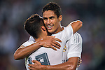 Raphael Varane of Real Madrid CF celebrates after score a goal during the FC Internazionale Milano vs Real Madrid  as part of the International Champions Cup 2015 at the Tianhe Sports Centre on 27 July 2015 in Guangzhou, China. Photo by Aitor Alcalde / Power Sport Images