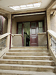 Steps And The Front Door, Yichang (Ichang) Residence.