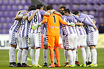 Real Valladolid's players during La Liga Second Division match. March 11,2017. (ALTERPHOTOS/Acero)