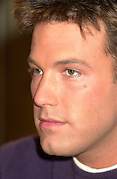 Montreal,April 9, 2001<br /> American actor Ben Affleck speaks at a press conference for the movie `` Sum of all fears ``, currentlly beeing shot in Montreal, Canada by film maker Phil Alden Robinson.<br /> <br /> Affleck plays CIA analyst Jack Ryan in the 4th movie  based on a Tom Clancy's novel and produced by Mace Neufeld.<br /> <br /> <br /> NOTE :raw D-1 file, saved asAdobe 1998 RBG Color space
