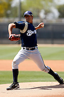 Efrain Nieves - Milwaukee Brewers - 2009 spring training.Photo by:  Bill Mitchell/Four Seam Images