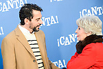 """Paco Leon and Concha Velasco attends to the premiere of the film """"¡Canta!"""" at Cines Capitol in Madrid, Spain. December 18, 2016. (ALTERPHOTOS/BorjaB.Hojas)"""