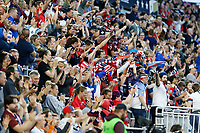Saint Paul, MN - Tuesday September 03, 2019 : Fans during a 2019 Victory Tour match between Portugal and the United States at Allianz Field, on September 03, 2019 in Saint Paul, Minnesota.