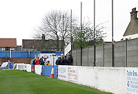 Bradbourne Road end terrace - Grays Athletic Football Club - 03/04/04 - MANDATORY CREDIT: Gavin Ellis/TGSPHOTO. Self-Billing applies where appropriate. NO UNPAID USE. Tel: 0845 094 6026