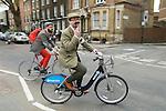 The Tweed Run London UK.