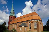 Deutschland, Niedersachsen, Ates Land, St.Martini und Nicolai in Steinkirchen