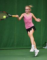 01-12-13,Netherlands, Almere,  National Tennis Center, Tennis, Winter Youth Circuit, Rixt van der Werff  <br /> Photo: Henk Koster
