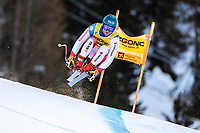 26th December 2020; Stelvio, Bormio, Italy; FIS World Cup Mens Downhill;  Niels Hintermann of Switzerland during his 1st training run for the mens downhill race