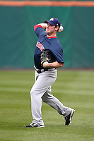 Pawtucket Red Sox pitcher Alex Wilson #30 during practice before a game against the Buffalo Bisons at Coca-Cola Field on April 15, 2012 in Buffalo, New York.  Buffalo defeated Pawtucket 10-9 in ten innings.  (Mike Janes/Four Seam Images)