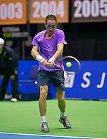 17-12-13,Netherlands, Rotterdam,  Topsportcentrum, Tennis Masters, ,  Mark de Jong  <br /> Photo: Henk Koster