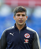 Reading first team coach Said Bakkati during the Sky Bet Championship match between Reading and Aston Villa at the Madejski Stadium, Reading, England on 15 August 2017. Photo by Andy Rowland / PRiME Media Images.<br /> **EDITORIAL USE ONLY FA Premier League and Football League are subject to DataCo Licence.