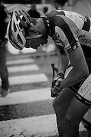 Scheldeprijs 2012..Rudiger Selig also went down in the post-finish crash