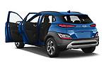Car images of 2021 Hyundai Kona-Hybrid Sky 5 Door SUV Doors