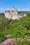 Glengorm Castle, Glengorm Estate, Isle of Mull, Inner Hebrides, Scotland, UK. June 2010.