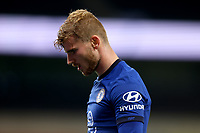 29th September 2020; Tottenham Hotspur Stadium, London, England; English Football League Cup, Carabao Cup, Tottenham Hotspur versus Chelsea; Timo Werner of Chelsea dejected as Spurs win the match
