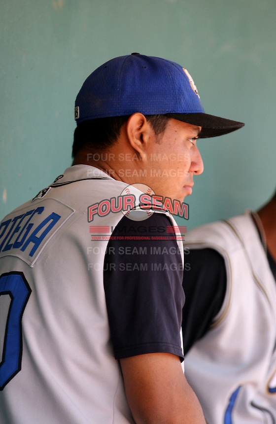 Anthony Ortega / 2007 Rancho Cucamonga Quakes..Photo by:  Bill Mitchell/Four Seam Images