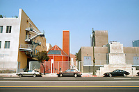 Frank Gehry: Loyola University Law School, Los Angeles. 1441 @. Olympic Blvd., 1981-84. (Photo taken from across street.)   Photo '86.