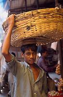 Auf dem Crawford-Market, Bombay (Mumbai), Maharashtra, Indien.