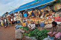 Street market, Siem Reap, Cambodia
