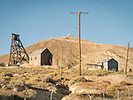 Surface works and head frames, Tonopah Mining Park, Nev.