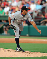 Pitcher Daniel Rosenbaum (19) of the Hagerstown Suns at the 2010 South Atlantic League All-Star Game on Tuesday, June 22, 2010, at Fluor Field at the West End in Greenville, S.C. Photo by: Tom Priddy/Four Seam Images