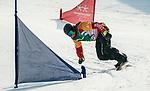 John Leslie, PyeongChang 2018 - Para Snowboard // Parasnowboard.<br /> Highlights of Team Canada during Para Snowboard competition // Faits saillants d'Équipe Canada lors d'une compétition de parasnowboard. 12/03/2018.