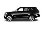 Car Driver side profile view of a 2015 Land Rover RANGE ROVER Vogue 5 Door SUV Side View