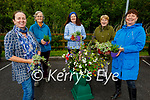 Phoenix Women's Centre got funding from Kerry County Council to run a gardening project in conjunction with Maura's Cottage Flowers and was launched at the Tralee Bay Wetlands on Tuesday. l to r: Maura Sheehy, Mary Joe Quigley, Mary Tarrant Lynch, Breda Byrne and Rita O'Sullivan