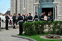 Les funerailles d'un soldat canadien mort en Afghanistan, <br /> 25 Juillet 2009, Beloeil, <br /> <br /> <br /> PHOTO :  Agence Quebec Pressse