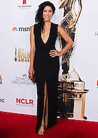 PASADENA, CA, USA - OCTOBER 10: Stephanie Beatriz arrives at the 2014 NCLR ALMA Awards held at the Pasadena Civic Auditorium on October 10, 2014 in Pasadena, California, United States. (Photo by Celebrity Monitor)