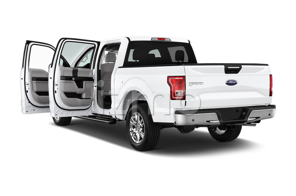 Car images of a 2015 Ford F-150 XLT SuperCrew 145-in Door Pickup Doors