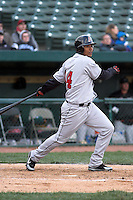 April 5, 2007:  Eduardo Perez of the Great Lakes Loons at Coveleski Stadium in South Bend, IN.  Photo by:  Chris Proctor/Four Seam Images