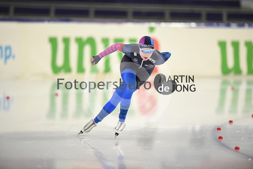 SCHAATSEN: HEERENVEEN: 21-11-2020, IJsstadion Thialf, Daikin NK ALLROUND, Paulien Verhaar, ©foto Martin de Jong