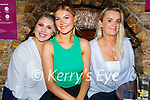 Enjoying the evening in Sean Og's on Saturday, l to r: Amy Kelly, Ciara and Michelle Keane from Tralee.