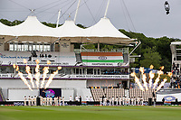 The teams are introduced prior to the national anthems during India vs New Zealand, ICC World Test Championship Final Cricket at The Hampshire Bowl on 19th June 2021