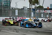 #48: Jimmie Johnson, Chip Ganassi Racing Honda and #18: Ed Jones, Dale Coyne Racing with Vasser Sullivan Honda