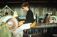 - Czech Republic, Moser crystal factory in Karlovy Vary....- Repubblica Ceca, fabbrica di cristallerie Moser di Karlovy Vary..