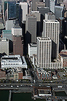 aerial photograph Spear Street Tower, Steuart Tower, San Francisco financial district