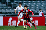 FC Seoul Midfielder Go Yo Han (r) in action during the 2017 Lunar New Year Cup match between Auckland City FC (NZL) vs FC Seoul (KOR) on January 28, 2017 in Hong Kong, Hong Kong. Photo by Marcio Rodrigo Machado/Power Sport Images