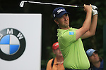 Mark Foster (ENG) tees off on the par3 17th hole during of Day 3 of the BMW International Open at Golf Club Munchen Eichenried, Germany, 25th June 2011 (Photo Eoin Clarke/www.golffile.ie)