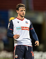 Bolton Wanderers' Andrew Tutte looks on <br /> <br /> Photographer Andrew Kearns/CameraSport<br /> <br /> The EFL Sky Bet League Two - Bolton Wanderers v Salford City - Friday 13th November 2020 - University of Bolton Stadium - Bolton<br /> <br /> World Copyright © 2020 CameraSport. All rights reserved. 43 Linden Ave. Countesthorpe. Leicester. England. LE8 5PG - Tel: +44 (0) 116 277 4147 - admin@camerasport.com - www.camerasport.com