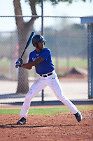 Quincey Littlejohn-Docken (44), from Long Lake, Minnesota, while playing for the Dodgers during the Under Armour Baseball Factory Recruiting Classic at Red Mountain Baseball Complex on December 29, 2017 in Mesa, Arizona. (Zachary Lucy/Four Seam Images)