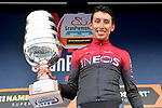 Egan Bernal (COL) Team Ineos wins the 103rd edition of GranPiemonte 2019 running 183km from Aglie to Santuario di Oropa (Biella), Italy. 10th Octobre 2019. <br /> Picture: Fabio Ferrari/LaPresse | Cyclefile<br /> <br /> All photos usage must carry mandatory copyright credit (© Cyclefile | LaPresse/Fabio Ferrari)