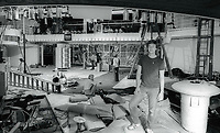 Rebuilding of Studio 544654.JPG<br /> Celebrity Archaeology<br /> 1981 FILE PHOTO<br /> New York City<br /> General Manager Michael Overington<br /> Rebuilding of Studio 54<br /> Photo by Adam Scull-PHOTOlink.net