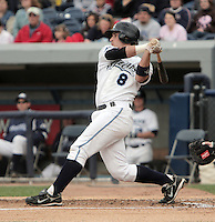 May 18, 2009:  Brandon Douglas of the West Michigan Whitecaps during a game at Fifth Third Ballpark in Comstock Park, FL.  The White Caps are the Low-A affiliate of the Detroit Tigers.  Photo By Emily Jones/Four Seam Images