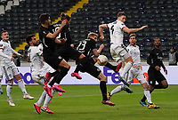 Chance für Marco Russ (Eintracht Frankfurt)9, Andre Silva (Eintracht Frankfurt), Martin Hinteregger (Eintracht Frankfurt) - 12.03.2020: Eintracht Frankfurt vs. FC Basel, UEFA Europa League, Achtelfinale, Commerzbank Arena<br /> DISCLAIMER: DFL regulations prohibit any use of photographs as image sequences and/or quasi-video.