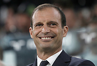 Calcio, Serie A: Torino, Allianz Stadium, 23 settembre 2017. <br /> Juventus' coach Massimiliano Allegri waits for the start of the Italian Serie A football match between Juventus and Tori0i at Torino's Allianz Stadium, September 23, 2017.<br /> UPDATE IMAGES PRESS/Isabella Bonotto