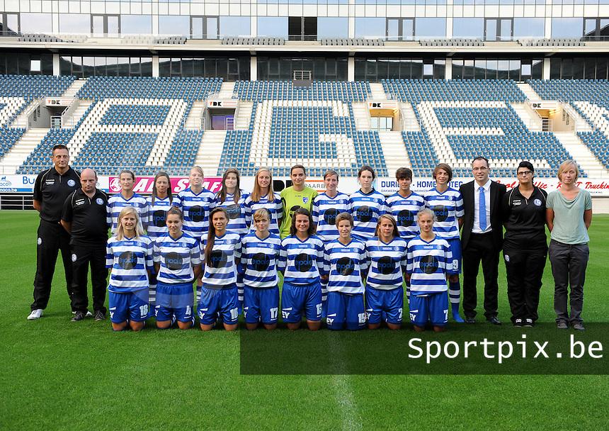 K AA Gent Ladies : teamfoto / ploegfoto<br /> foto Dirk Vuylsteke / nikonpro.be